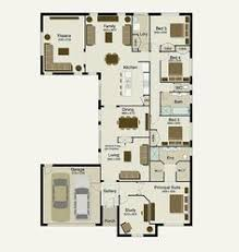 ideas about House Plans Australia on Pinterest   Bedroom    Sekisui House Australia  bedroom   study   slice off the theatre and streamline the