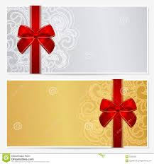 gift certificate voucher coupon template stock image image gift certificate voucher coupon template