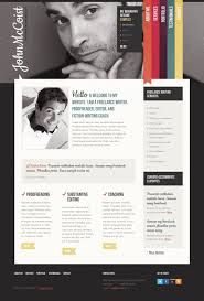 business templates for lancer websites personal page website template