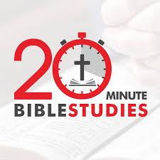 20-Minute Bible Studies