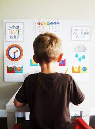 DIY Homework Station for Kids   Live Craft Eat