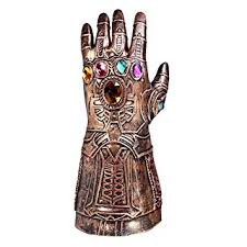 SGerste <b>Thanos Infinity Gauntlet</b> Glove <b>Cosplay Infinity War</b> The ...