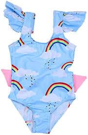 Shan-S Children's One Piece Swimsuit Girl Summer ... - Amazon.com
