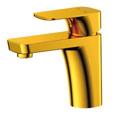 <b>Смеситель для раковины D&K</b> золото 414001376 купить ...