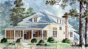 Low Country Cottages House Plans   Interior Design DecorPlan SL  Sandy Hook Cottage   Benjamin Showalter   Sunset House Plans