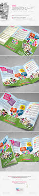 children care flyer magazine ad toys sons and daycares kids summer camp trifold brochure