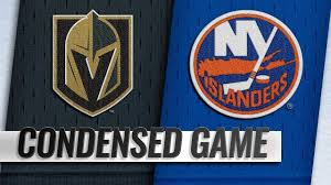12/12/18 Condensed Game: Golden Knights @ Islanders - YouTube