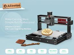 €137 with coupon for <b>Alfawise C10 Pro CNC</b> Laser GRBL Control ...