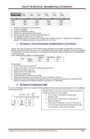 inferential statistics z 1 4