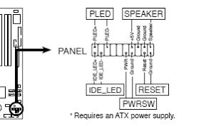 Статья FPANEL — подключение пищалки, кнопок Power, Reset ...