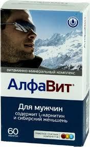 """Витаминно-минеральный комплекс <b>Алфавит """"Для мужчин</b>"""", 60 ..."""