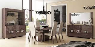 chair dining tables room contemporary:  dining room furniture modern wooden dining sets with contemporary black wood pendant lamp models also modern