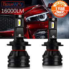 BraveWay <b>Car</b> Lights LED H7 16000LM H11 LED Lamp for <b>Car</b> ...