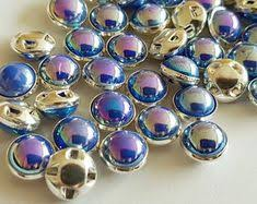 Assorted <b>pearl</b> buttons half <b>pearl</b> gold color <b>metal</b> setting flat back ...
