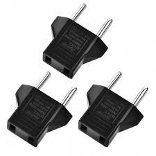 <b>Minismile 3PCS</b> Universal 6A US Socket to EU Plug Power Adapter ...