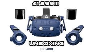 <b>HTC Vive Pro Full</b> Kit Unboxing - YouTube