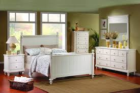 piece solid wood bedroom furniture white