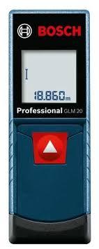 Лазерный <b>дальномер BOSCH GLM</b> 20 Professional — купить по ...