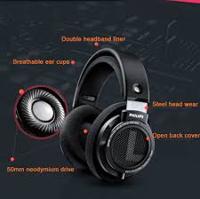 Original <b>Philips</b> Professional <b>SHP9500</b> Headphones with <b>HIFI</b> ...