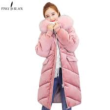 <b>PinkyIsBlack 2019 wadded jacket</b> female new winter jacket women ...