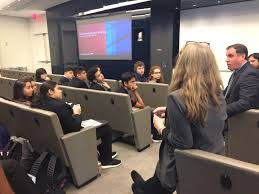 news and events one of the student commented ithought the trading floor would be louder like in the movies the bank of america tech team responded technology fixed