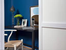 beautiful dark brown wood modern rustic design small spaces home wonderful blue black unique simple office blue home office dark wood