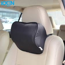 LOEN Cotton Neck support headrest <b>Car</b> seat cushion soft <b>lumbar</b> ...