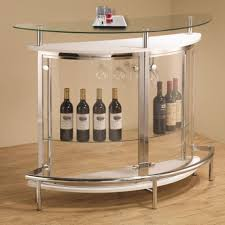 large size of kitchen modern home bar table sets chrome accent tempered glass shelf underneath arched table top wine cellar furniture