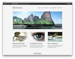 beautiful wordpress portfolio themes colorlib illustrious wordpress travel themes