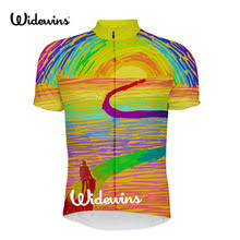 2018 Bicycle travel Polyester Summer Cycling Jersey Breathable ...
