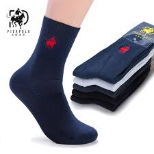 2019 <b>PIER POLO</b> Socks <b>Autumn</b> Winter Men'S Cotton Socks Double ...