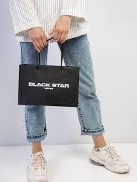 <b>Подарочный пакет BLACK STAR</b> MEDIUM UH3319-061 купить за ...