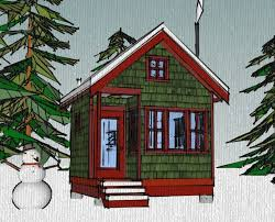 The Borealis Writer    s Cabin      x      Tiny House Plans
