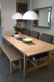 dining room sets ikea: lovely wooden ikea dining room set for your home terrific