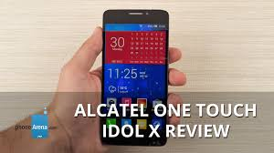 Alcatel One Touch Idol X Review - YouTube
