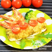 """Рыбка для красавиц"" - пошаговый рецепт с фото на Готовим дома"