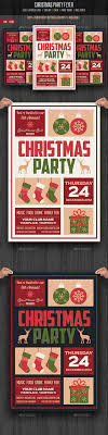 christmas party flyer christmas parties party flyer and xmas christmas party flyer template psd design xmas graphicriver