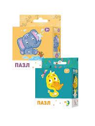 <b>Пазлы</b> детские Слоненок и Утенок <b>Dodo</b> 7834854 в интернет ...
