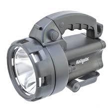 <b>Фонарь Navigator</b> LED 3Вт+<b>4</b> LED прожектор аккумуляторный ...