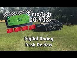 Chinese Digital <b>Race Dash</b> Review - Sinco-Tech DO-908 - YouTube