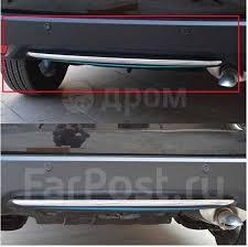 <b>Накладка на низ</b> заднего бампера Honda Vezel 2013 ...