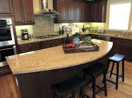 kitchen island granite top sun:  chic kitchen island granite rounded granite counter top kitchen island designing idea