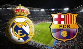 Resultat d'imatges de logos real madrid vs fc barcelona