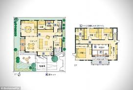 Does it come fully fur nished  Dream home designed especially for    A floor plan of the Japanese built cat home which has gone on