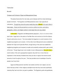 mesopotamia vs essay  mesopotamia comparison essay mesopotamia scribd