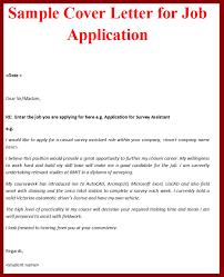 how to write job cover letter sample of application examples cover gallery of cover letter examples for job application