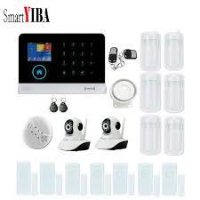 <b>SmartYIBA</b> RFID WIFI Wireless GSM SMS Home <b>Alarm</b> System+ ...