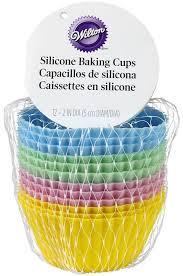 <b>Набор силиконовых форм для</b> кексов Wilton 5см, 12шт (Wilton ...