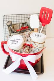 top ideas about baking gift themed gift baskets i know this was obviously a holiday post but you could change up the colors