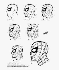 spider_man_mask_tutorial_by_lostonwallace d4zyrv5 dali lomo april 2014 on cardboard iron man helmet template